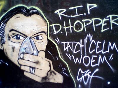 RIP Dennis Hopper Graffit