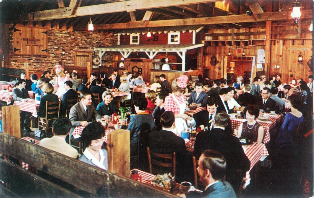Angus Barn Dining Room