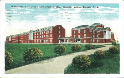 Dormitories, Library and Administration Bldg., Meredith College, Raleigh, N.C._web