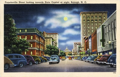 Fayetteville Street at Night_web