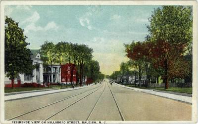 Hillsboro St_ca 1915_web