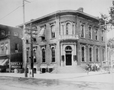 The Round Steps Bank (NC State Archives photo)