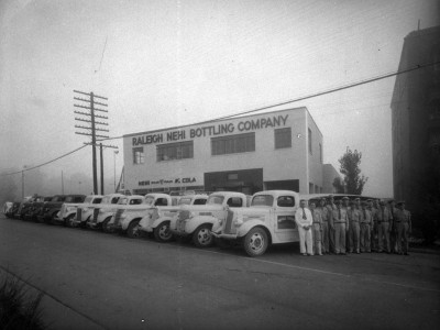 N_53_15_4370 Raleigh Nehi Bottling Company Trucks and Drivers 1940_web