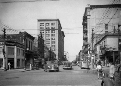 N_53_15_5708 First Block East Hargett St Looking West, 1946