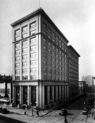 Raleigh Banking & Trust Building with additional 8 floors (NC State Archives photo)