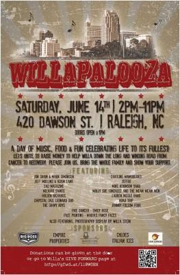 Willapalooza poster
