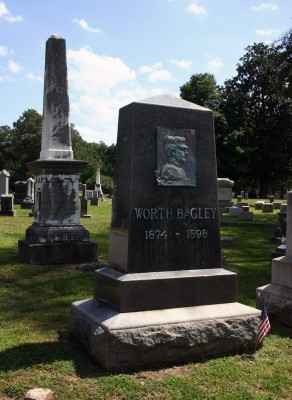 Worth Bagley grave_2_web