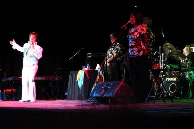 Elvis Tribute at the Ampitheatre