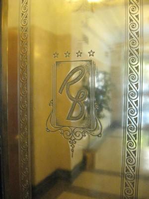 Lobby elevator door detail